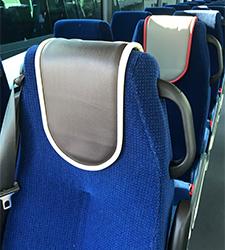 Sièges d'un bus