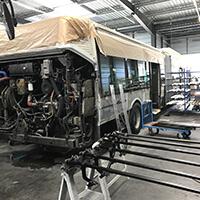 Bus réparation